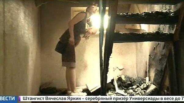 Ростовчан могли поджечь: власти разбираются