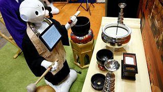 Un robot sacerdote en Japón