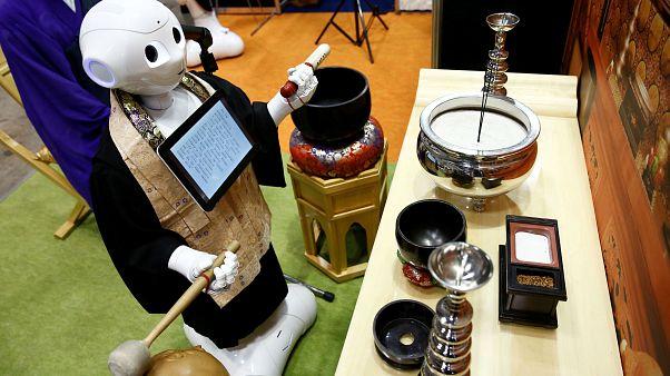 Meet the robot priest set to deliver funerals in Japan