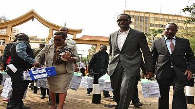 Kenya's electoral commission delivers 54,000 documents at supreme court