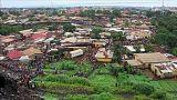 Gine'de çöp yığını çöktü: en az 8 ölü