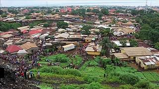 Derrumbe mortal de un vertedero sobre un edificio en Guinea Conakri