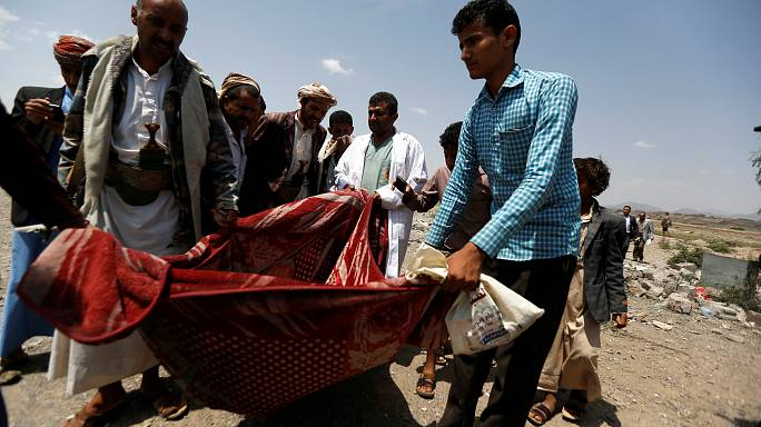 Airstrike near San'aa in Yemen kills 35