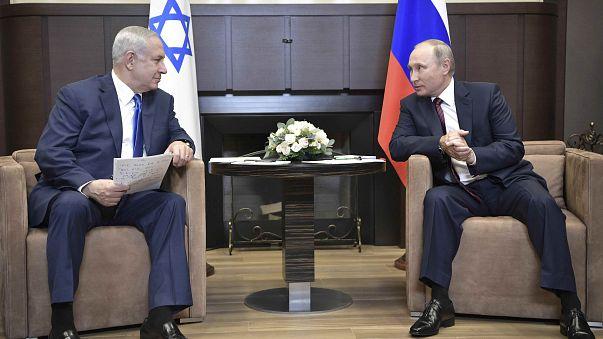 Нетаньяху в Сочи