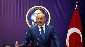 ابراز نگرانی وزیر خارجه ترکیه از همه پرسی استقلال اقلیم کردستان عراق