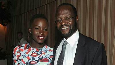 'Baby loves daddy': Kenya's Lupita celebrates dad's governorship victory