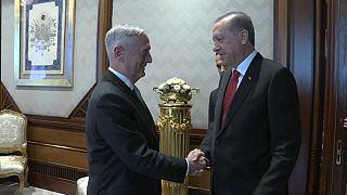 Erdoğan'dan ABD Savunma Bakanı Mattis'e PYD tepkisi
