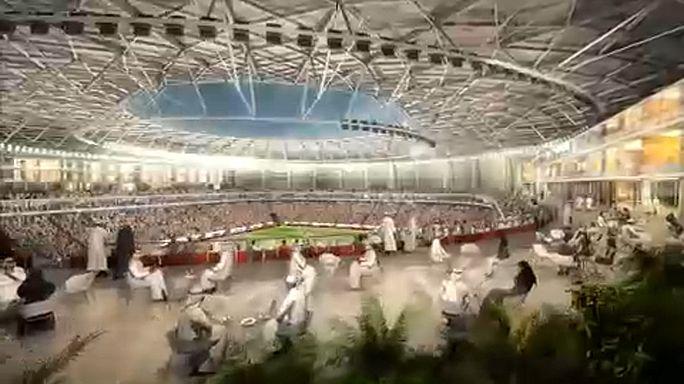 Újabb katari stadion látványterve