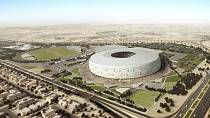 Coupe du monde 2022: le Qatar présente le stade Al Thumama en forme de taqiya