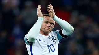 England's Wayne Rooney announces international retirement