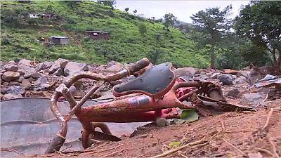 Sierra Leone mudslides sweep away school
