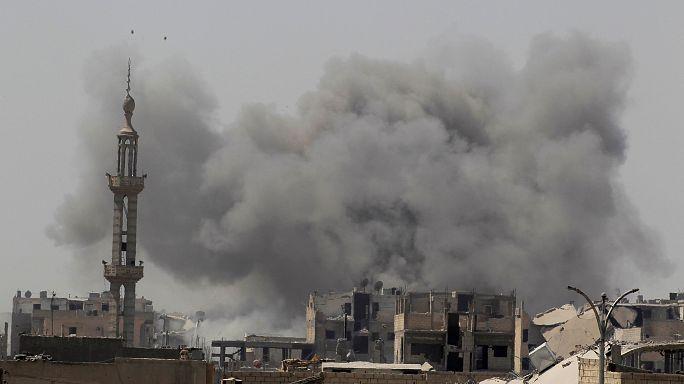 """Amnesty International: жители Ракки в """"смертельной ловушке"""""""