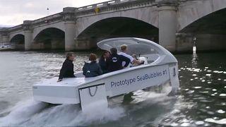 شاهد: التاكسي العائم وسيلة مواصلات جديدة قريبا في باريس