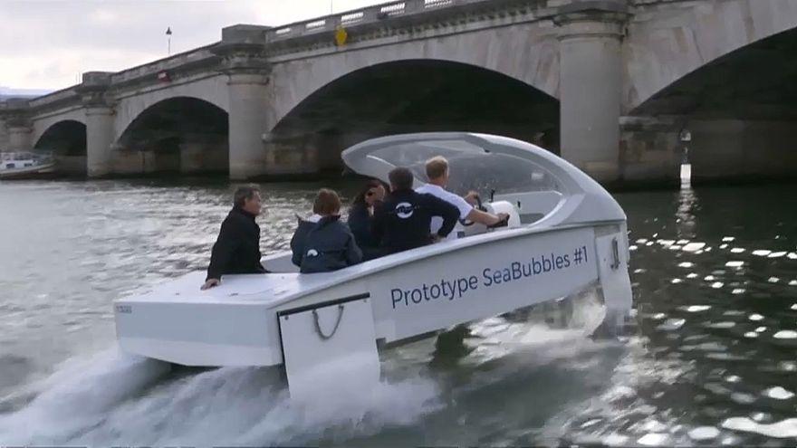 Még mindig nem jár a párizsi vízi taxi