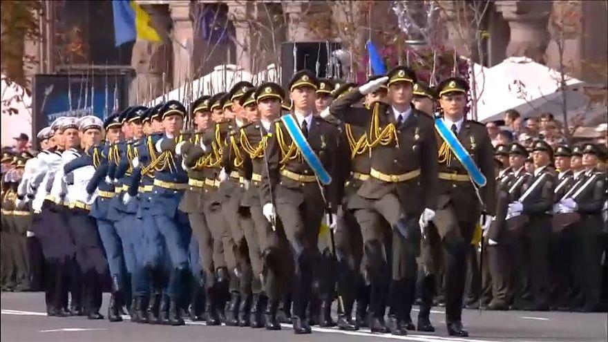Ukrayna bağımsızlığının 26. yılını kutluyor