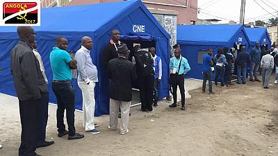 Over a thousand people in three Angolan provinces to vote on Saturday