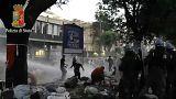 Emeutes entre migrants et policiers à Rome