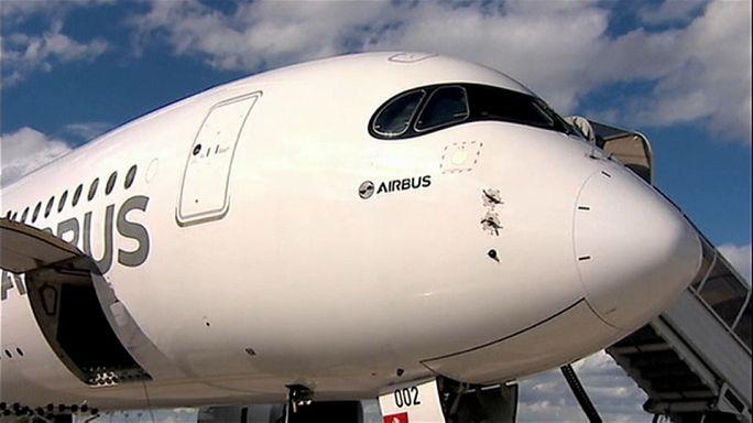 Correção para risco de explosão no A350-900