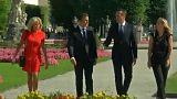 A csehekkel és a szlovákokkal egyezkedett Macron