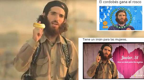 Spanish respond to ISIL threats with humour