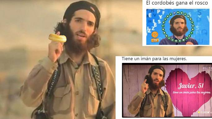 Spanischer Humor gegen Drohvideo des IS-Dschihadisten - in 9 Tweets