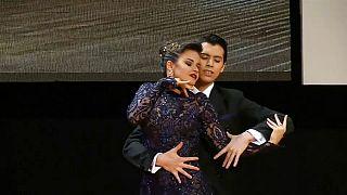 Una pareja argentino-japonesa gana el Mundial de tango
