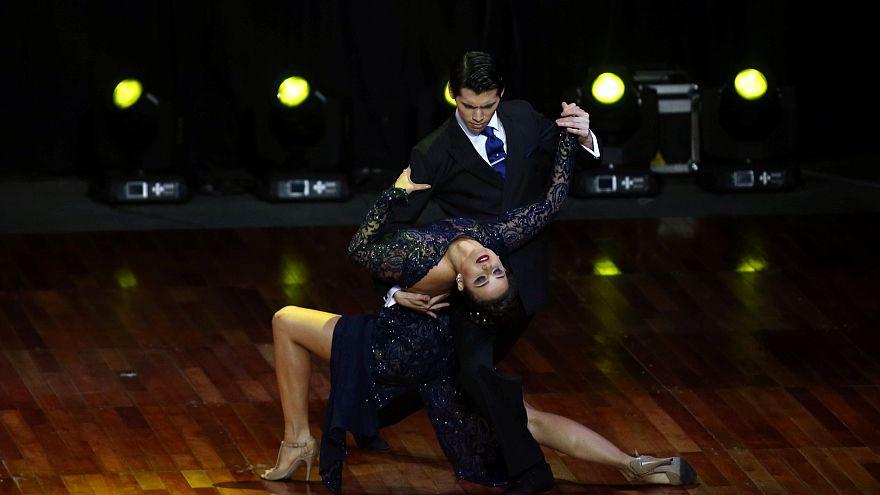 Танго - страсть, бьющая через край