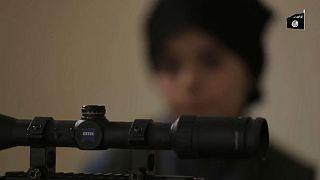 کودک ۱۰ ساله آمریکایی عضو داعش ترامپ را تهدید کرد
