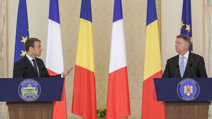 Macron Romániát is bevonná egy új Schengenbe