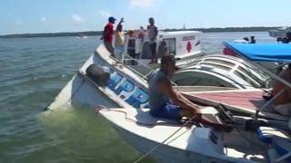 Una cuarentena de víctimas en dos naufragios en Brasil