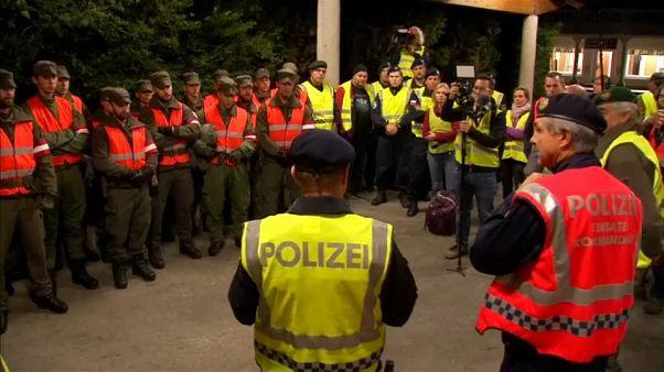 Austria refuerza los controles fronterizos