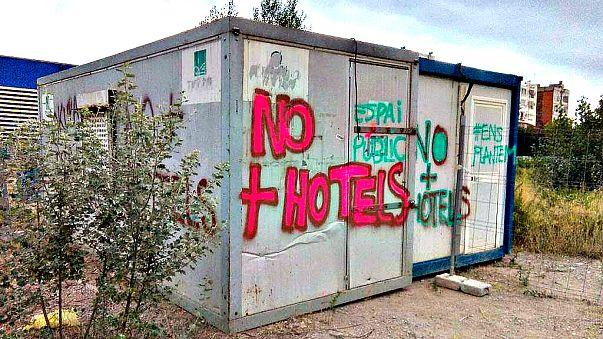 Los atentados frenan las protestas anti-turismo en Barcelona
