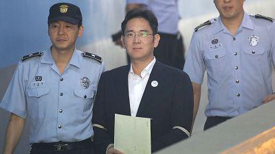 L'héritier de Samsung condamné à 5 ans de prison