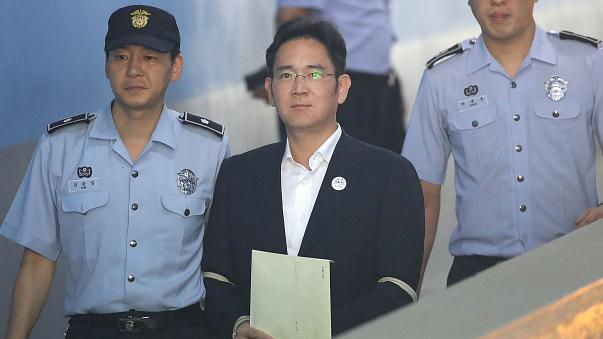 Samsung heir Jay Y. Lee jailed in South Korea