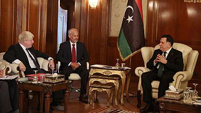 British foreign secretary visits Libya's Haftar, urges him to stick to ceasefire