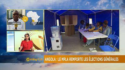 Angola : Les réultats provisoirs donnent le MPLA vainqueur [The Morning Call]