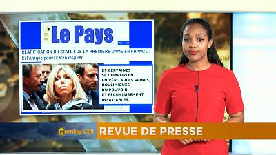 Revoir la revue de presse du 25-08-2017 [The Morning Call]