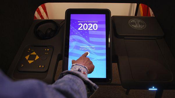 Image: Voting machine prototype