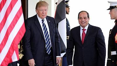 Trump calls Egypt's Sisi, says keen to overcome obstacles
