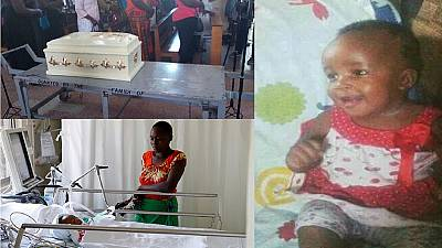 Funeral held for six-month-old Kenyan girl 'teargassed, beaten' by police
