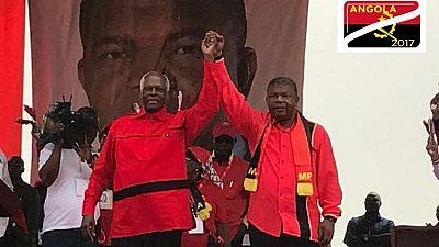 Elections en Angola : João Lourenço succède au président Dos Santos