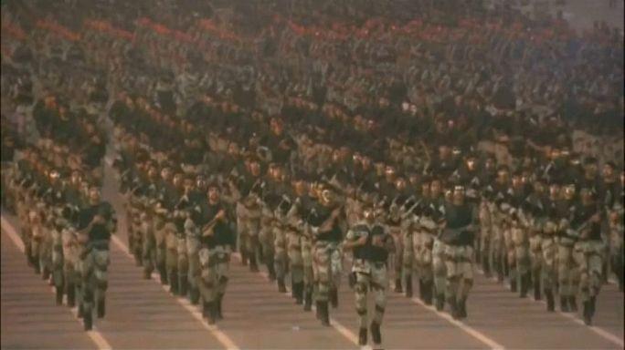 بالفيديو.. عرض عسكري لقوات أمن الحج في مكة