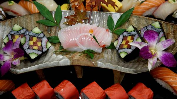 Russian chef wins world sushi cup