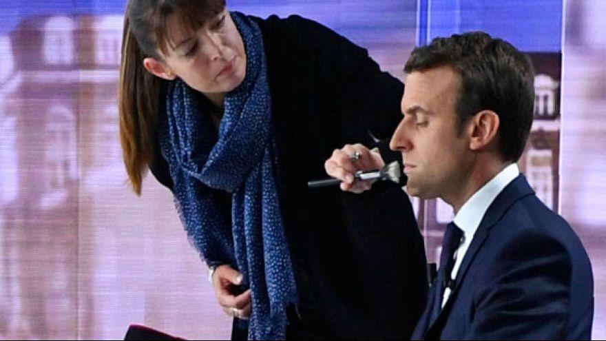 ماكياج ماكرون يكلف الإليزيه 26000 يورو