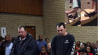 White South African farmers found guilty in 'coffin assault' case