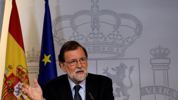 """Rajoy exhorta a los políticos a """"aparcar sus diferencias"""" para combatir el terrorismo"""
