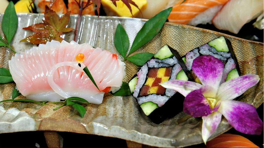 À procura do melhor prato de sushi