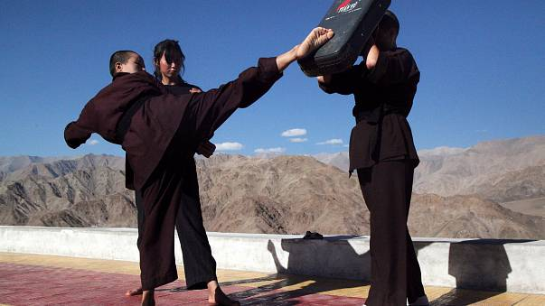 'Kung Fu Nuns' help women defend themselves from rapists
