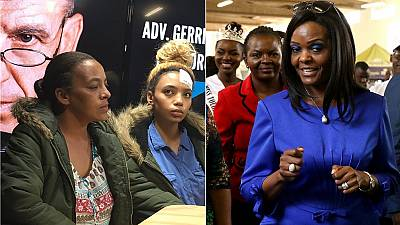Grace Mugabe seen in public for first time since South Africa assault charge