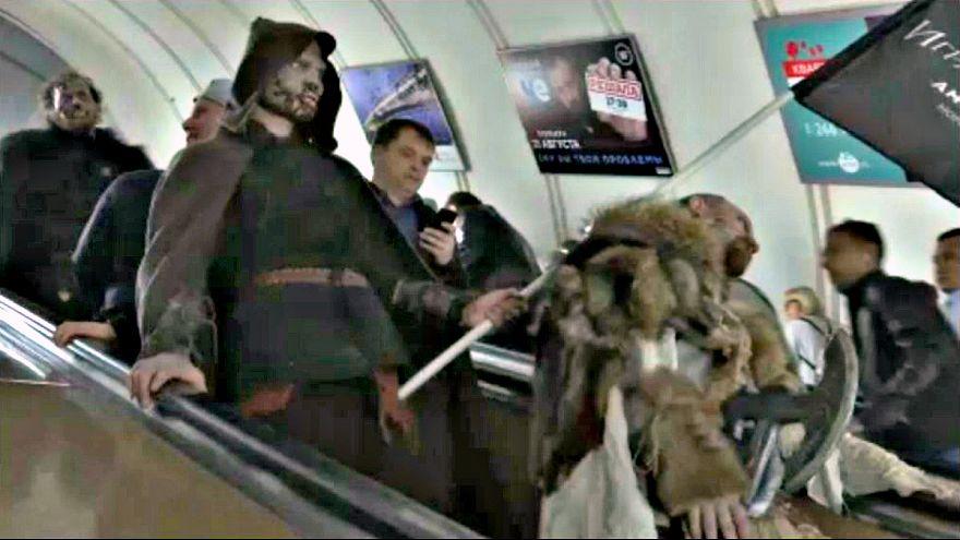 Trónok harca a moszkvai metróban